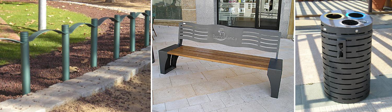 Metalics Tordera mobiliario urbano