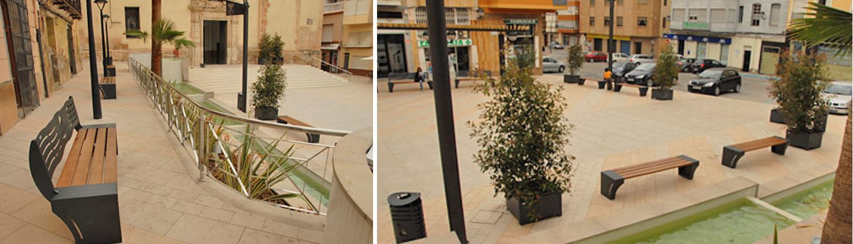 Mobiliario Urbano Metalics Tordera