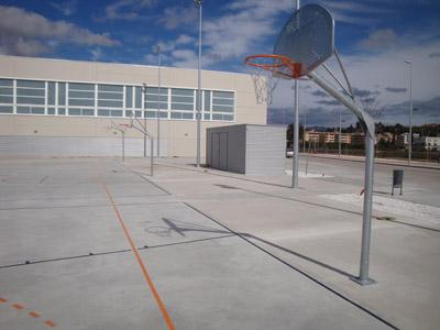 Cistella basquet movil antivandalica