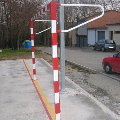 Porteria handbol fija