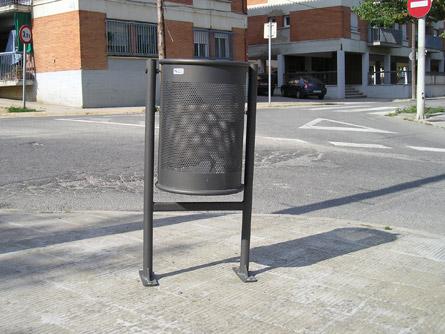 Papeleras Mobiliario Urbano